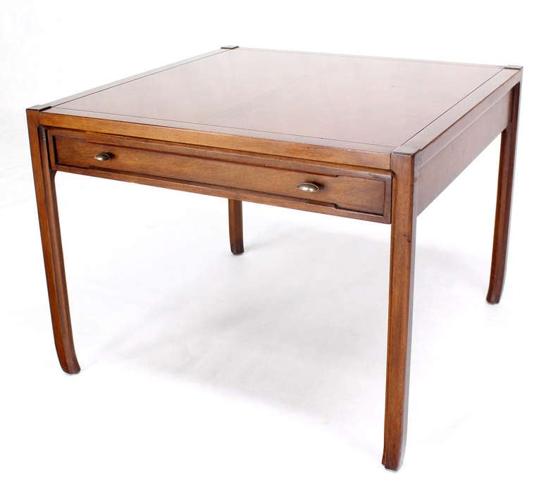 Modern Pair Of Lamp Table Bedside End Side Tables Solid: Pair Of Mid Century Modern Walnut Lamp End Table Or