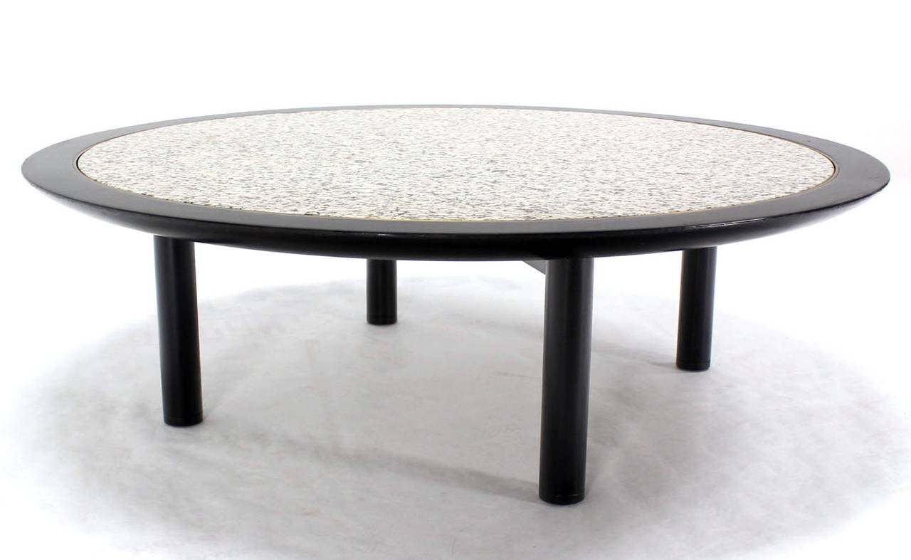 48 Inches Round Mid Century Modern Coffee Table By Baker For Sale At 1stdibs