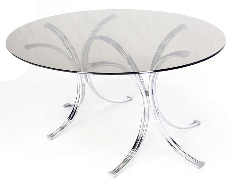 Roche Bobois Mid Century Modern Oval Glass Dining Table  : IMG6112l from www.1stdibs.com size 768 x 606 jpeg 24kB