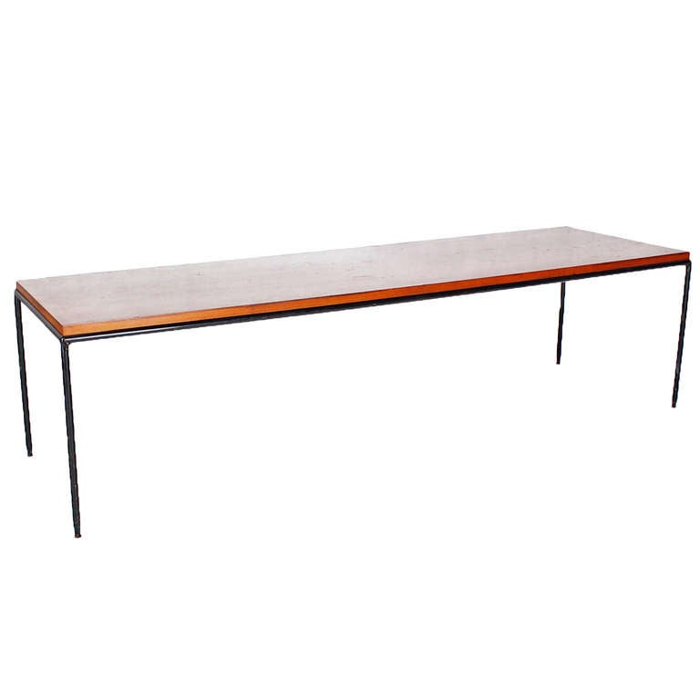 Paul mccobb mid century modern long coffee table for sale for Modern coffee table sale