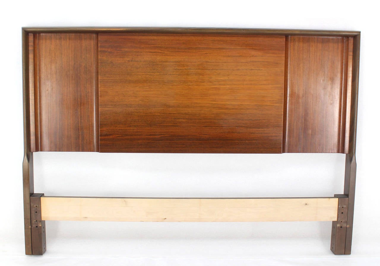 Very nice full-size Swedish headboard from 1960s designed by Edmond Spence.