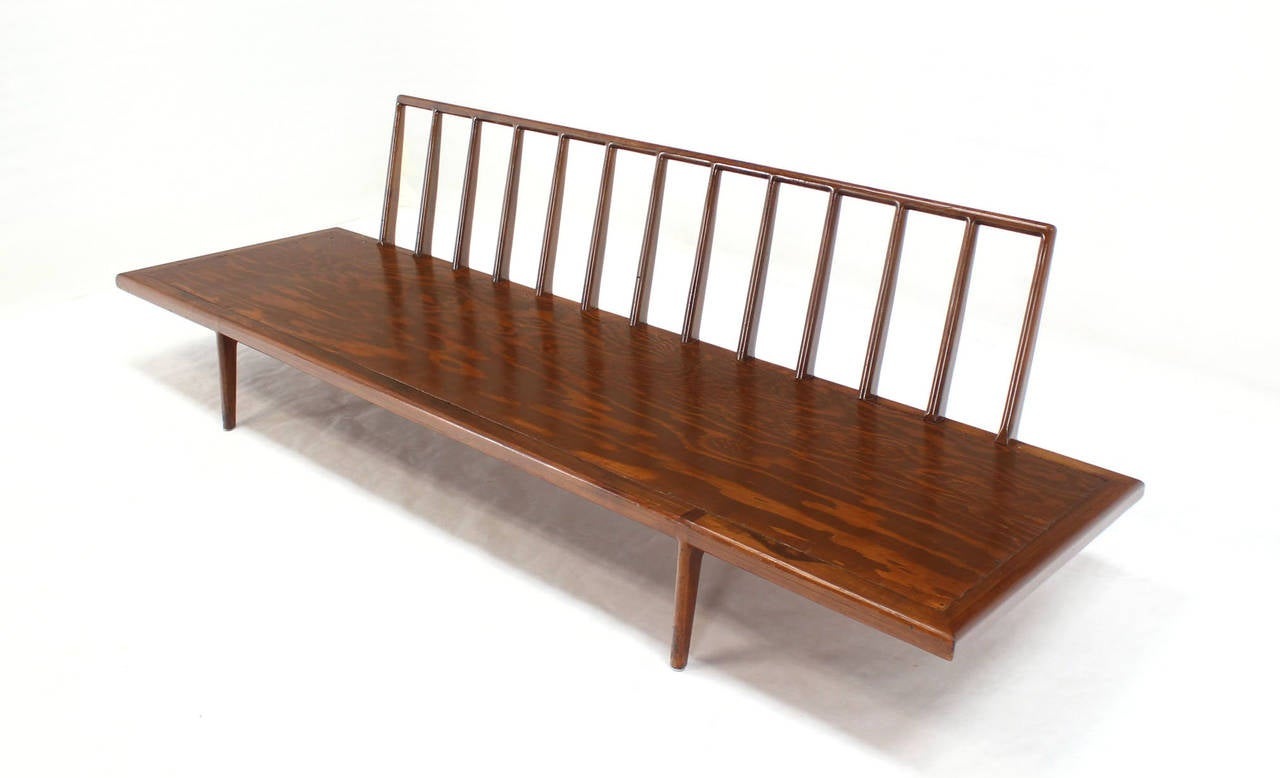 Mid century modern daybed frame at 1stdibs for Mid century modern day bed