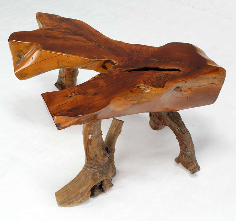 Coffee Table Made From Driftwood: Driftwood Coffee Table For Sale At 1stdibs