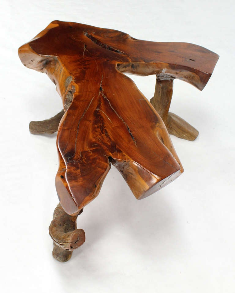 40 Square Driftwood Coffee Table: Driftwood Coffee Table For Sale At 1stdibs