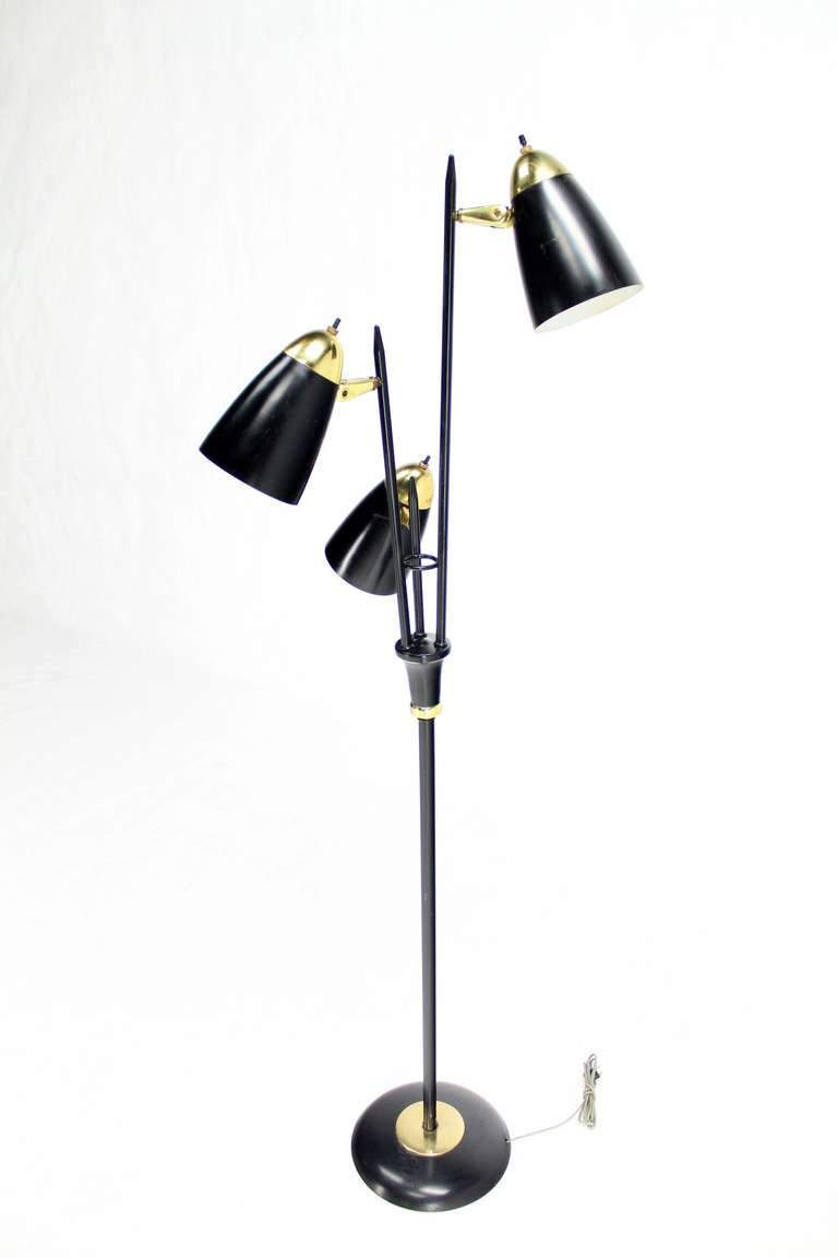 Mid century modern floor lamp at 1stdibs for Modern contemporary floor lamp
