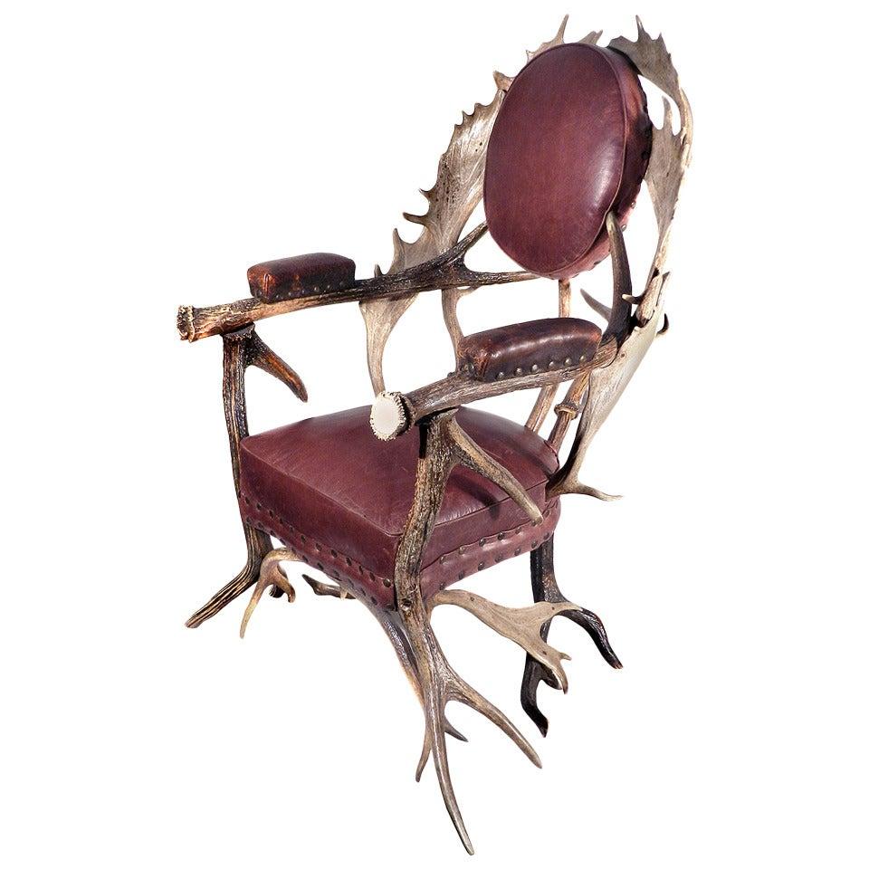 Amazing Antler Armchair