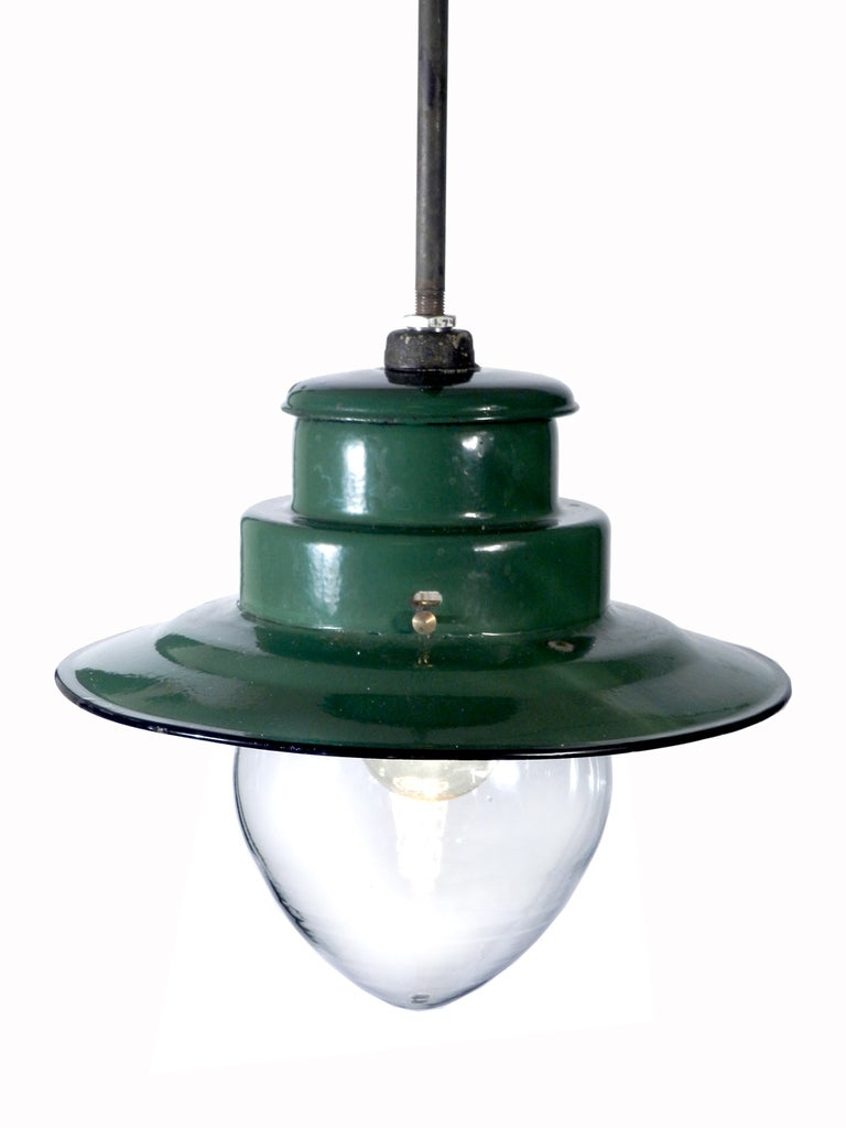 Porcelain Train Station Lamps Large Collection At 1stdibs