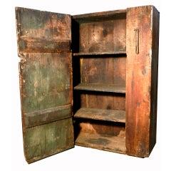 Early 1800s Thread Company Cupboard