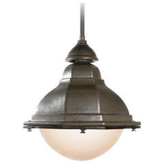 Oval French Terracotta Street Lights