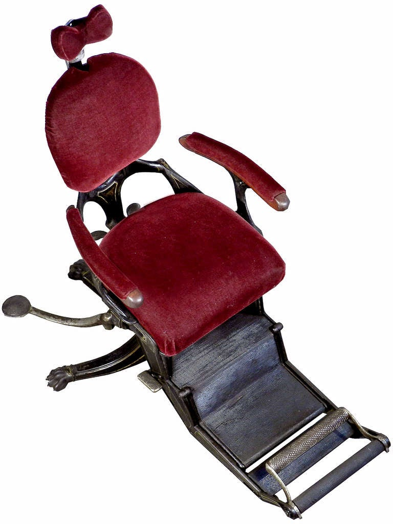 1800s Museum Quality Dental Chair 2