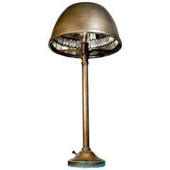 1911 I.P. Frink Bronze Bank Desk Lamp