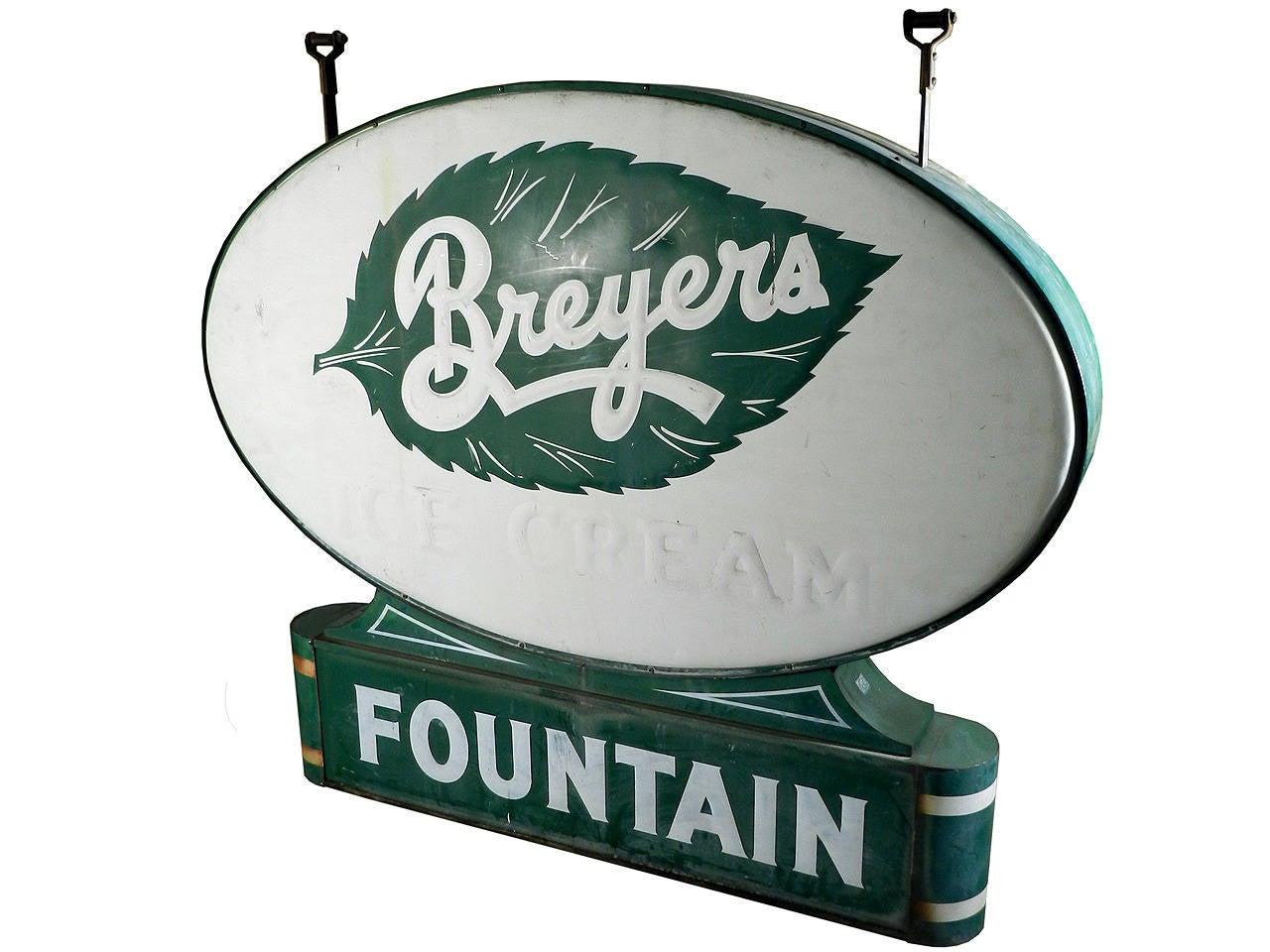 Art Deco Soda Fountain Sign 3