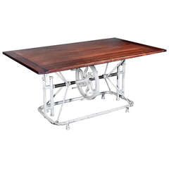 Operating Room Table Base with Beautiful Wood Top