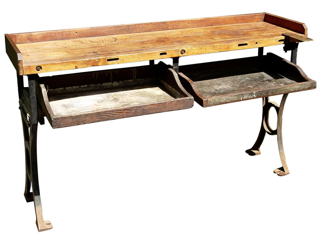 Jewelers Potting Bench At 1stdibs