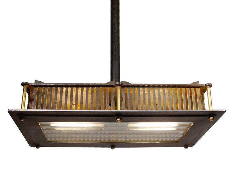 American Industrial Vented Lamp For Sale