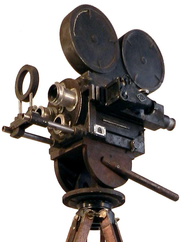 hand crank news reel camera movie prop at 1stdibs