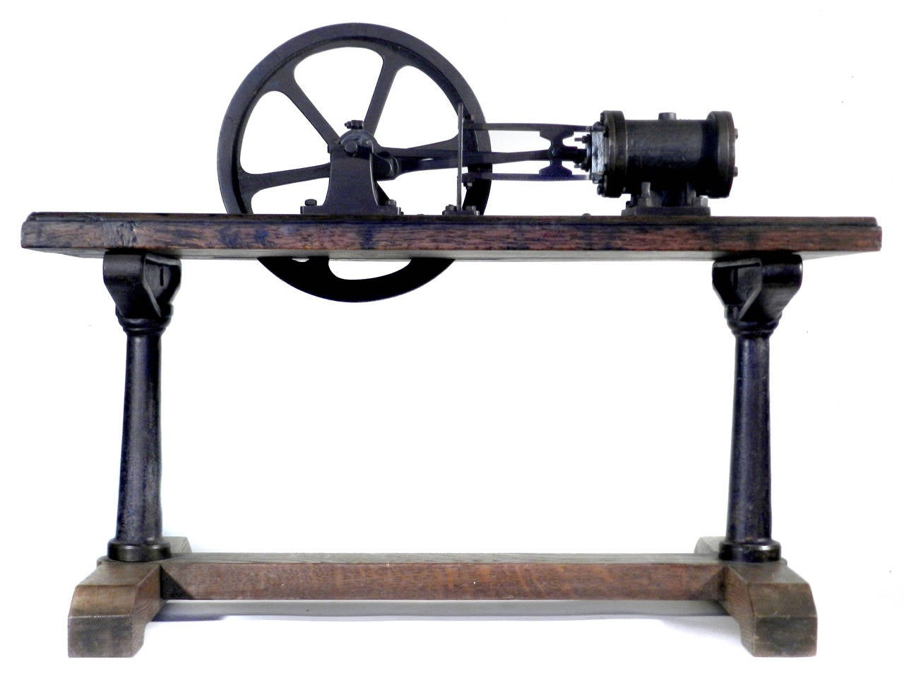 Industrial Working Steam Engine For Sale