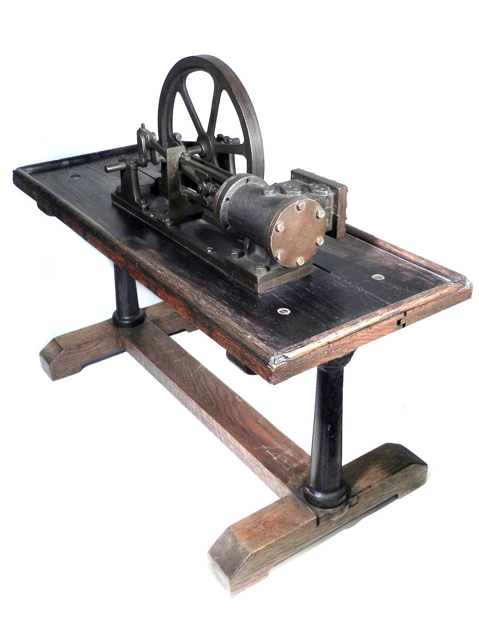 French Working Steam Engine For Sale