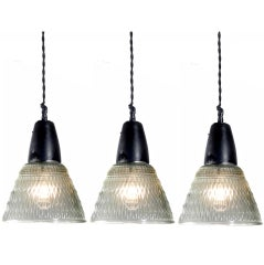 Quilted Holophane Bell Lights