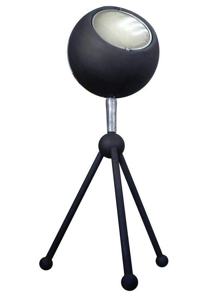 Huge Futuristic Sphere Floor Lamp at 1stdibs