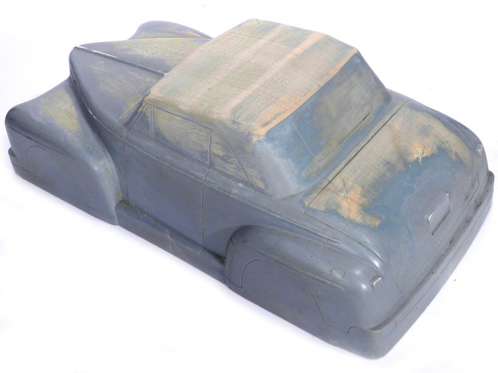 Solid Wood Automotive Factory Toy Mold At 1stdibs
