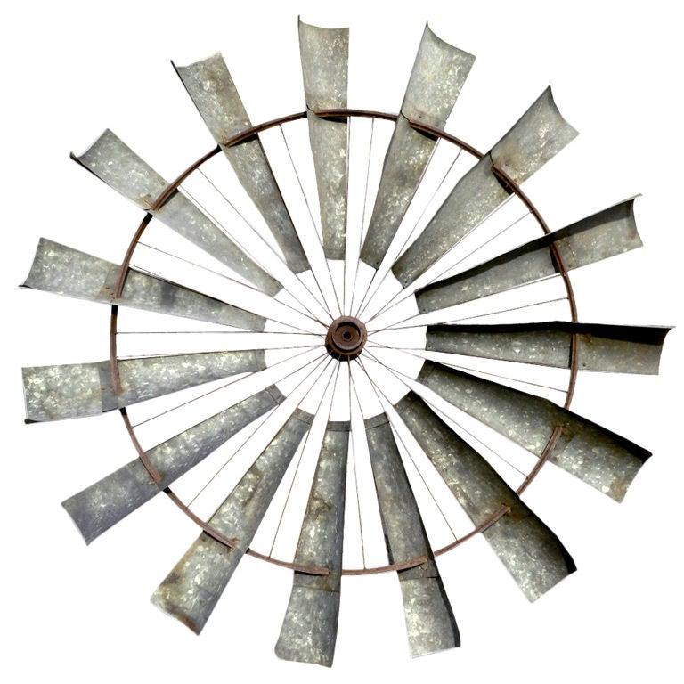 Home Made Farm Windmill Blades At 1stdibs
