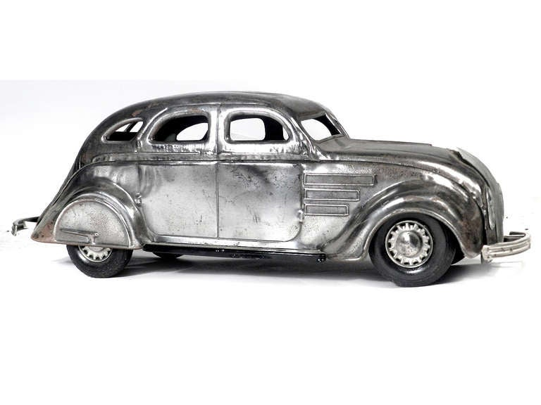 Large Pressed Steel Chrysler Airflow Toy For Sale at 1stdibs