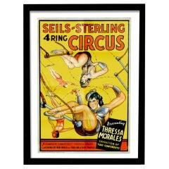 Original Seils-Sterling Circus Poster