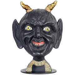 Hand-Carved Tim Burton Devil