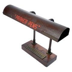 Parker Pens - Advertising Desk lamp