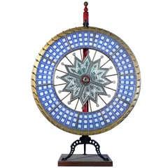 H.C.Evans Jumbo Dice Wheel On Stand