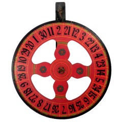 Hand Painted Wheel of Fortune