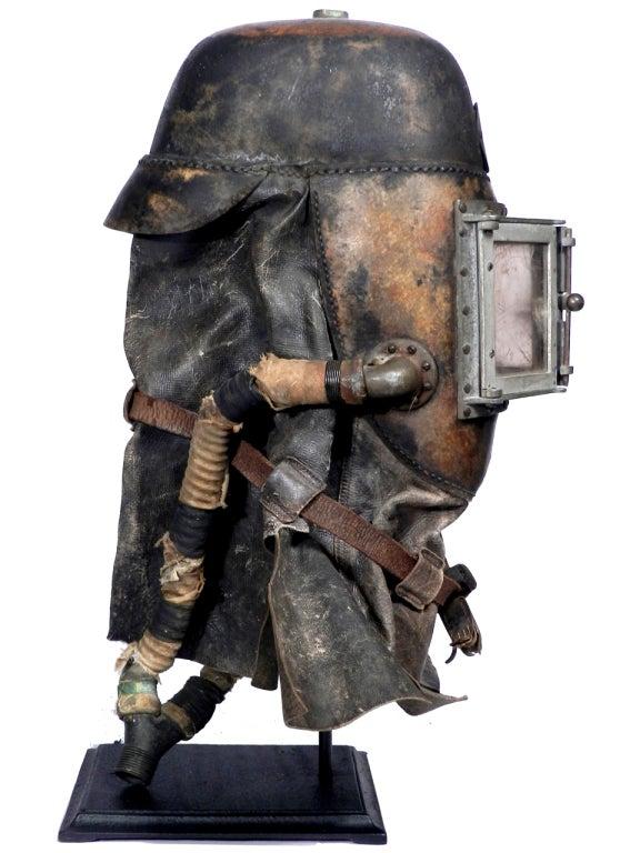 19th Century 1878 Siebe Gorman Firemens Rescue Mask