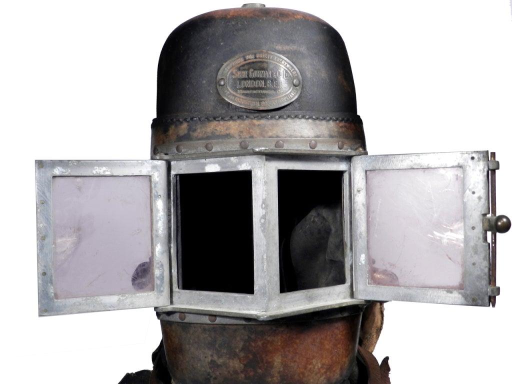 Mica 1878 Siebe Gorman Firemens Rescue Mask