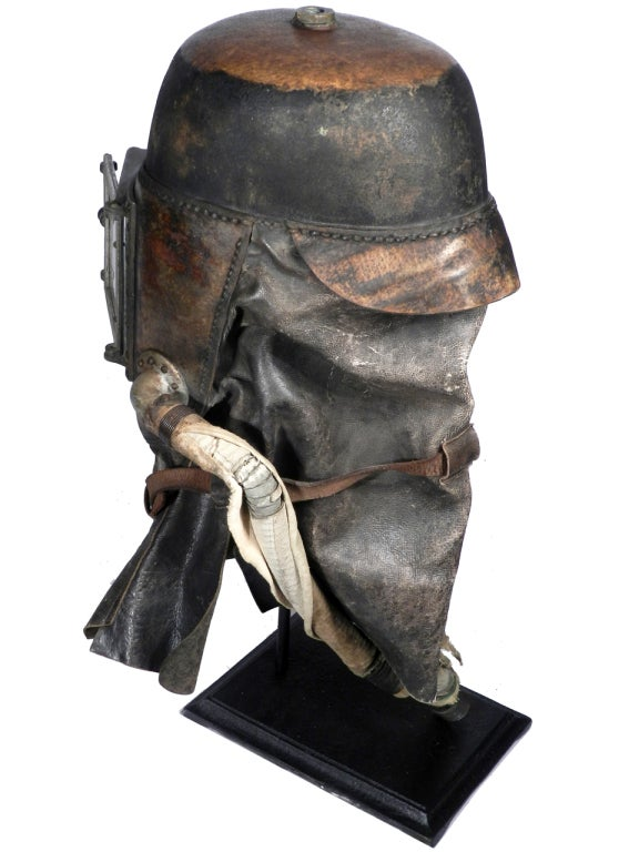 1878 Siebe Gorman Firemens Rescue Mask 1
