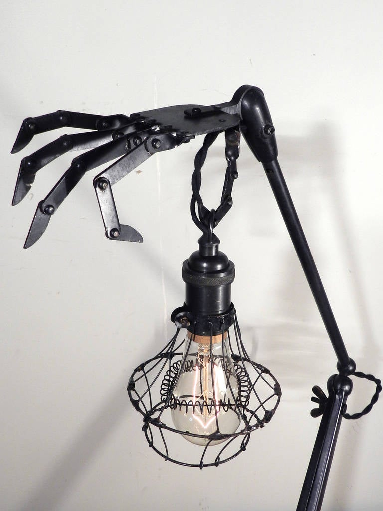 Articulated Hand Table Lamps 4