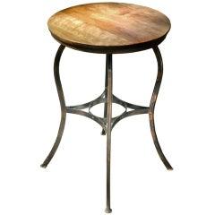 Bistro Table - Original Japanned Copper Finish