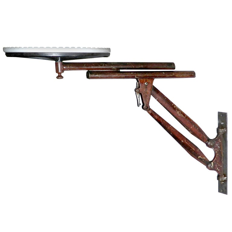 Wall Mounted and Articulated Medical Table at 1stdibs