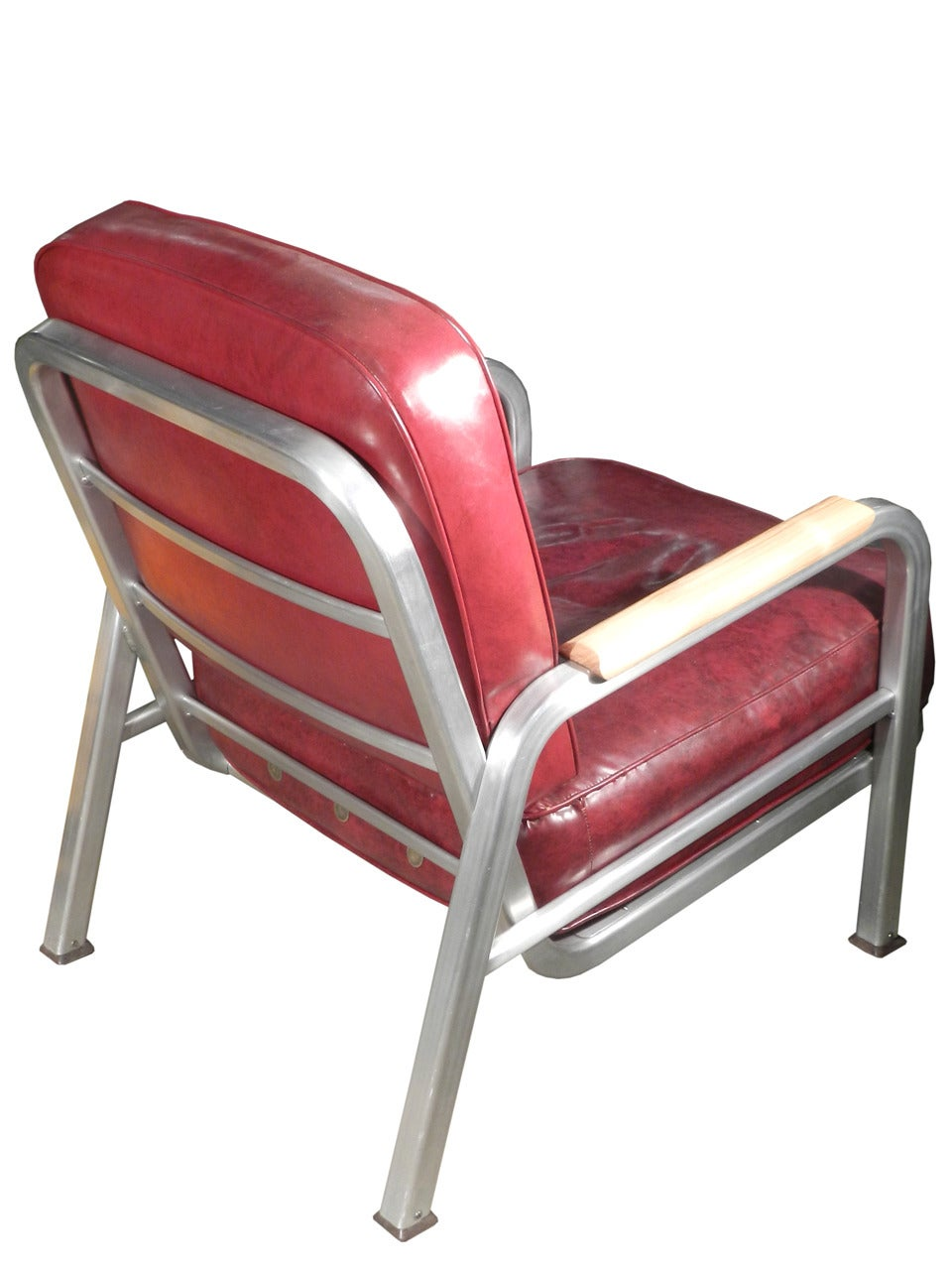 Nice fortable Pair of Art Deco Lounge Chairs at 1stdibs