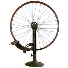 Bicycle Spoke Tuning Stand - Marcel Duchamp Feel