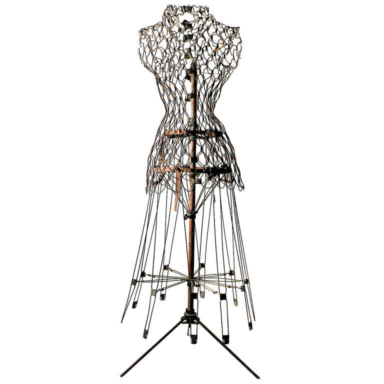 Wire Mannequin at 1stdibs