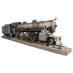 Large Handmade Railroad Automaton