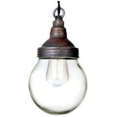 Benjamin Copper Explosion Proof Globe Lamp