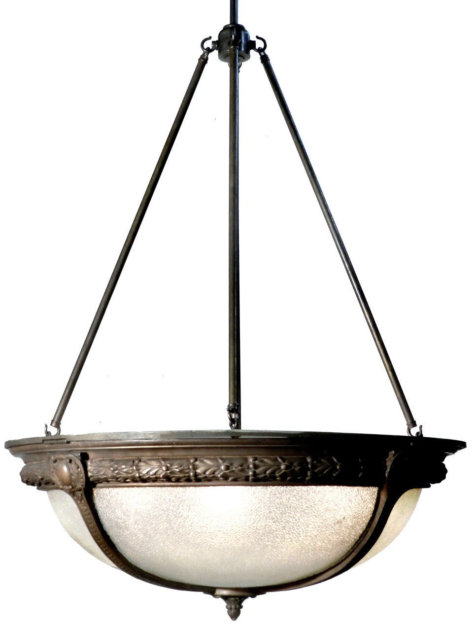 Delightful Pebbled Glass Theater Dome Light 2