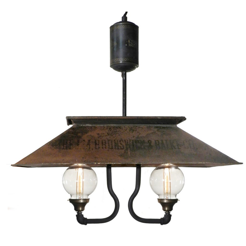 1880s Pool Table Chandelier At 1stdibs