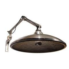 """Cast Aluminum Articulated Arm Lamps - 18"""" Diameter"""