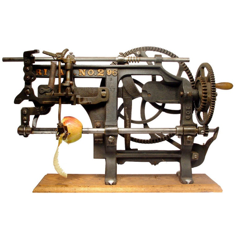 The Mother of all Apple Peelers – 1889