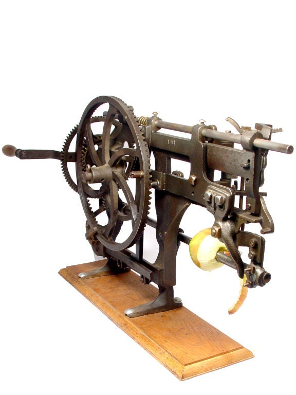 The Mother of all Apple Peelers – 1889 at 1stdibs