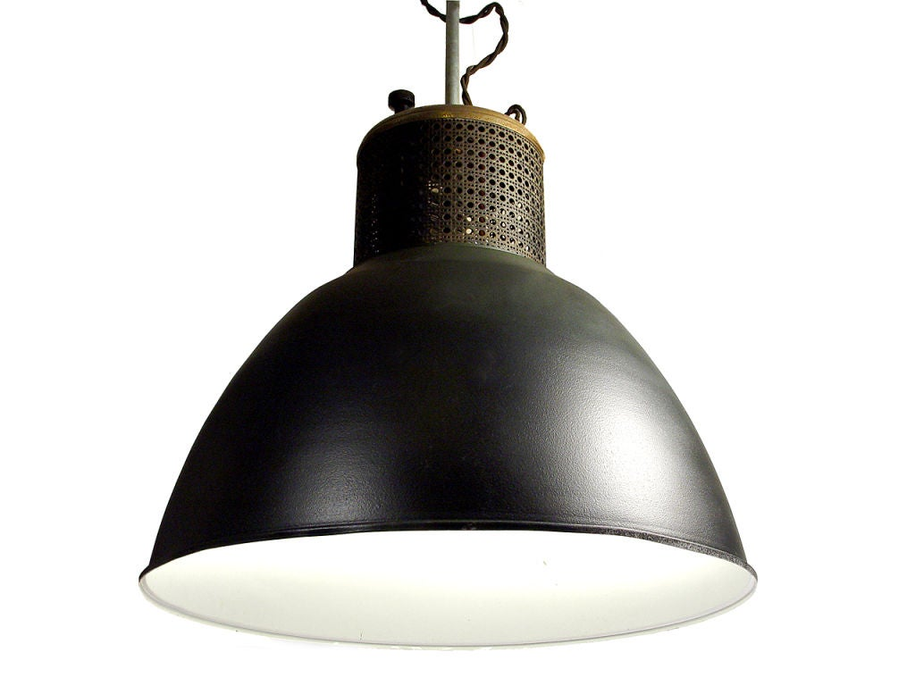 striking oversized industrial dome l at 1stdibs