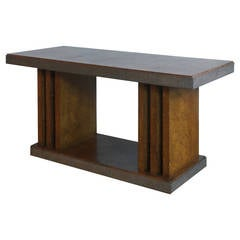 Low Freestanding Console Table by Pier Luigi Colli